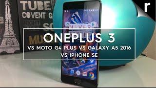 Best £300 phone: OnePlus 3 vs Moto G4 Plus vs iPhone SE vs Galaxy A5 2016