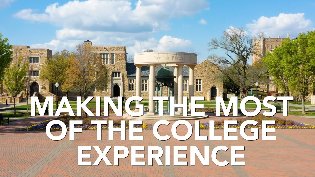 Making the most of the college experience - YouTube