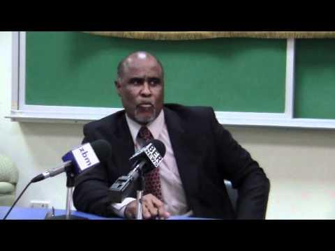 BIU President Chris Furbert Bermuda Mar 1 2012