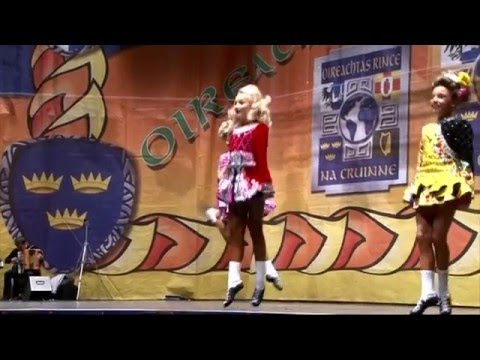 Irish Dancing World Championships 2016 - STV News report