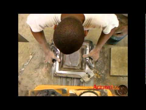 Proceso Fabricacin Mosaicos Hidralicos  YouTube