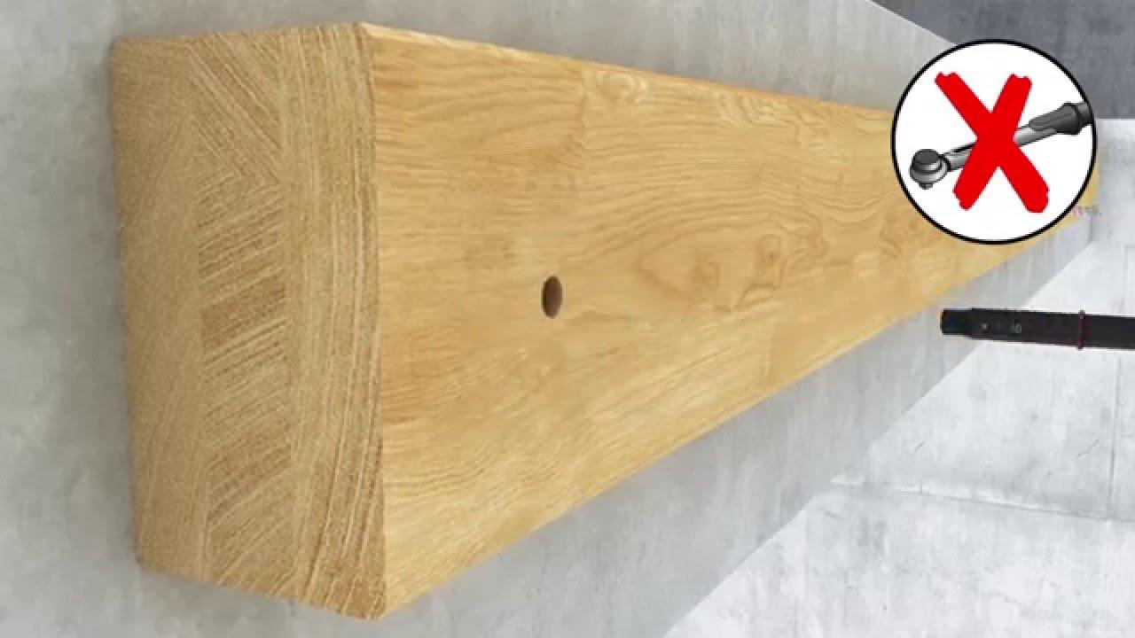 holzbalken an wand befestigen ostseesuche com. Black Bedroom Furniture Sets. Home Design Ideas