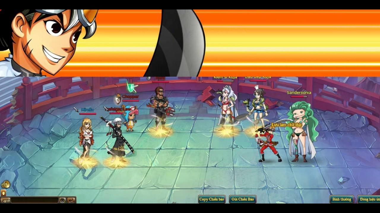[Vua Hải Tặc][Game 568 play]: Đại chiến chị em nhà rắn