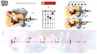 ELI - CHANGE YOUR MIND - ACOUSTIC- TELEKOM How to play on Guitar-Tutorial+Chords