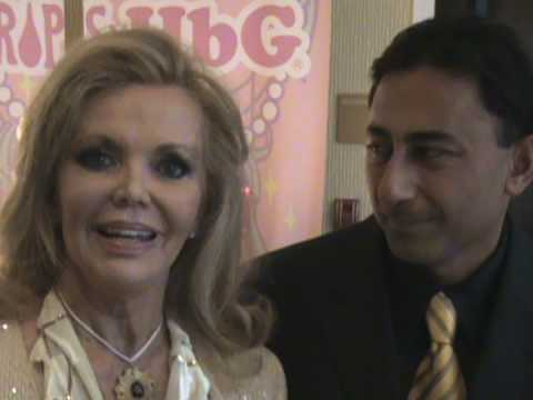 Actress Deanna Lund With Dr. Khanna, Beverly Hills Lasik Surgeon