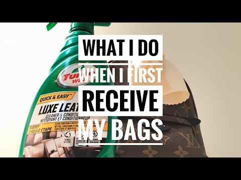 YOU BOUGHT A DESIGNER LUXURY BAG. NOW WHAT? | ACCLIMATE | CLEAN | CONDITION