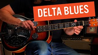 How to Play this Insane Delta Blues Rhythm