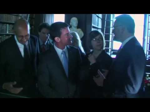 French  Prime Minister Visits Trinity College