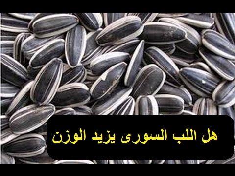 هل اللب السورى يزيد الوزن Youtube