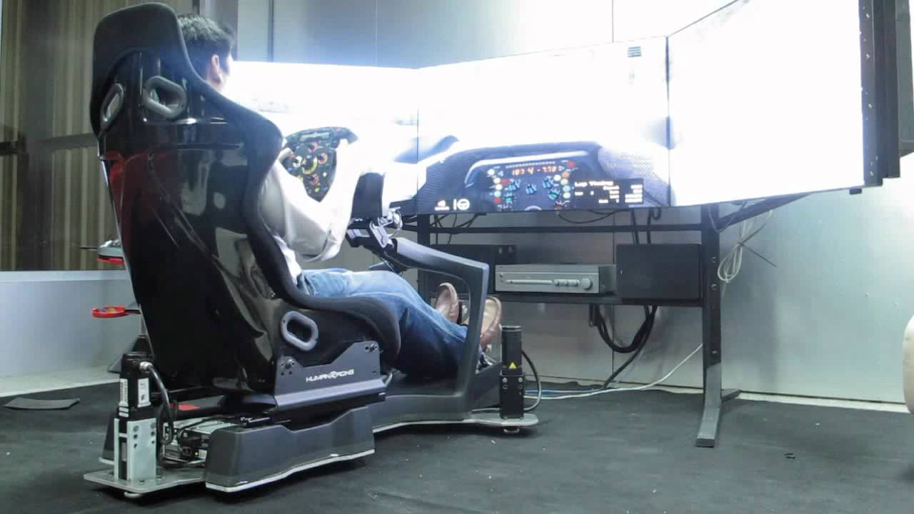 Humanracing Gt Chassis Full Motion Simulator Youtube