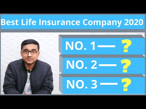 BEST LIFE INSURANCE COMPANY 2020 | HOW TO CHOOSE BEST LIFE INSURANCE COMPANY IN INDIA ?