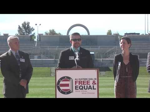 2014 Free and Equal Elections Press Conference in support of CO Gubernatorial Debate