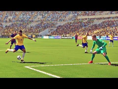 Brasil X Barcelona