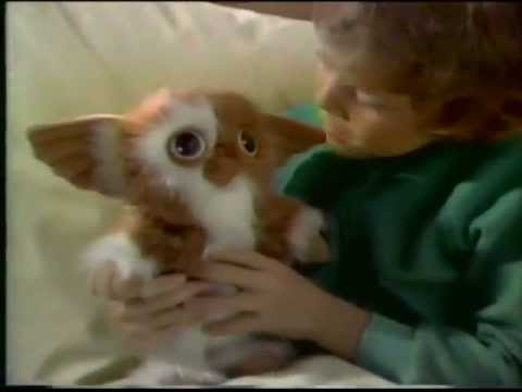1984 Gizmo The Mogwai From Gremlins Plush Toy Commercial Youtube