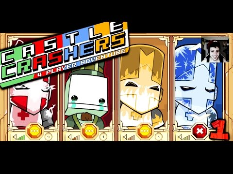 Castle Crashers w/ The Derp Crew (Part 1)