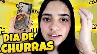 DIA DE CHURRASCO E PISCINA! (vlog) - Bela Almada