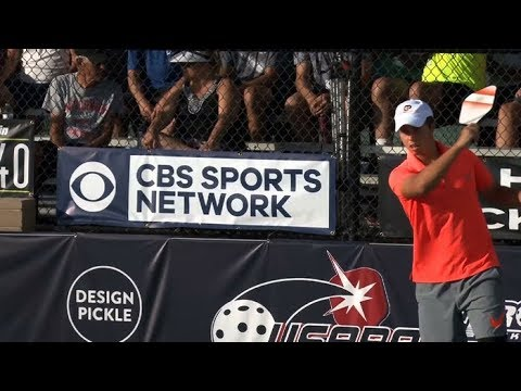 Just Released! CBS Sports Network Broadcast of USAPA Nationals - 2017