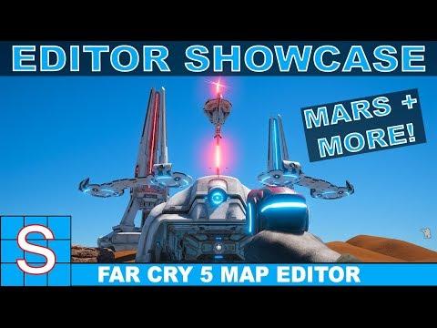 SPACE MAPS   Far Cry 5 Map Editor Showcase   Lost on Mars DLC + New Vietnam Ai