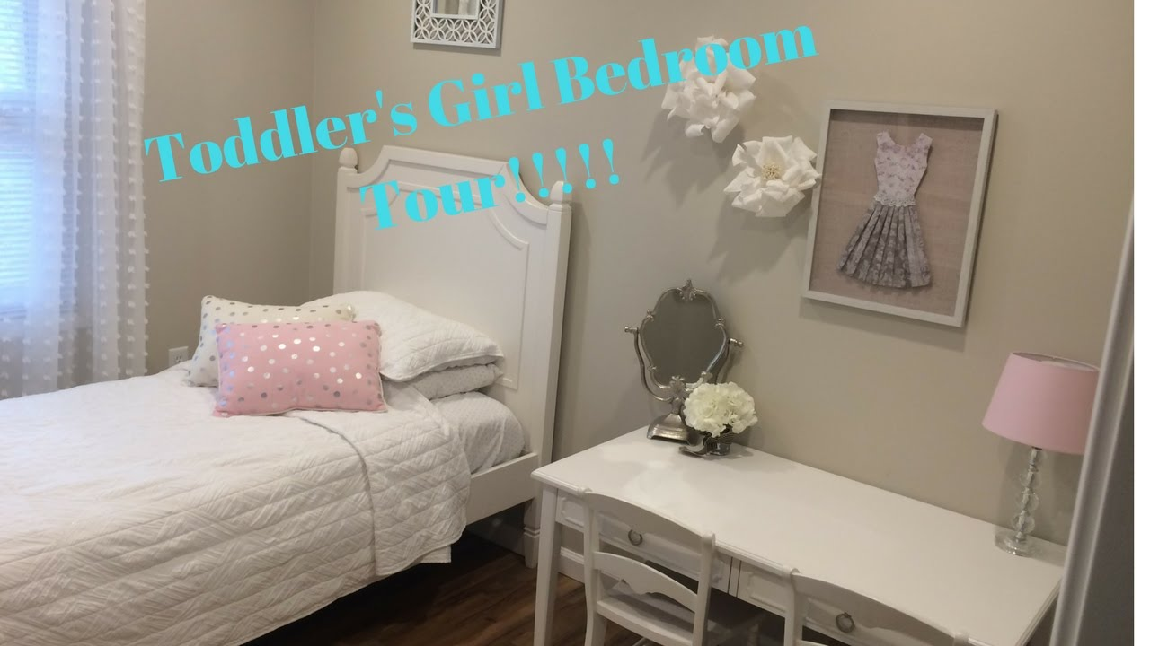 CUTE TODDLER GIRLS ROOM TOUR/DECORATING SMALL BEDROOM ... on Girls Room Decorations  id=46803