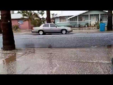 Hail over Phoenix area