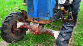 Полевые испытания модернизированного трактора ЮМЗ-6