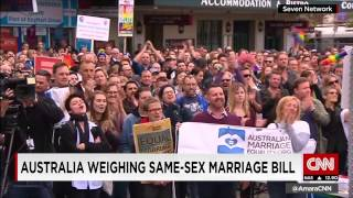 Will Australia make same sex marriage legal? Lynda Kinkade discusses on CNN Today