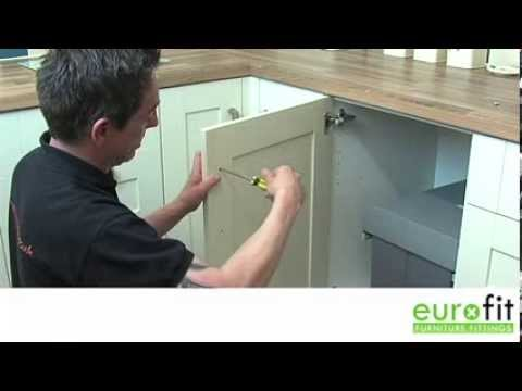 How To Fit A Cupboard Handle Youtube