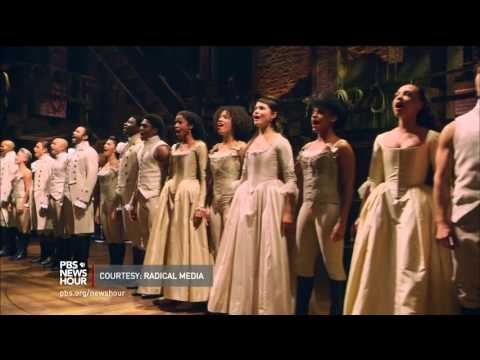 Hip-hop and history blend for Broadway hit 'Hamilton'