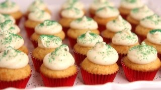 Mini Eggnog Cupcakes Recipe - Laura Vitale - Laura In The Kitchen Episode 516