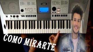 """Como Tocar """" Como Mirarte """" En Piano Fácil / Sebastian Yatra TUTORIAL"""