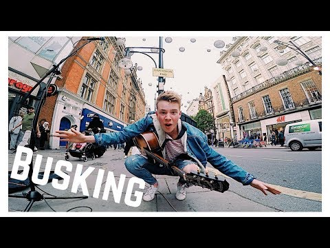 Finding the BEST BUSKING SPOT on Oxford street 💥 | Part 1