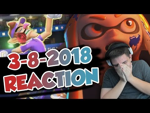 GROWN MAN CRIES BECAUSE OF SMASH FOR SWITCH (Nintendo Direct March 8, 2018 Reaction)