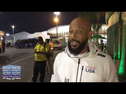 Minister Sylvan Richards At Olympics, August 12 2016
