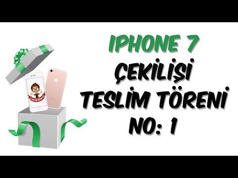 iPhone 7 Çekilişi Teslim Töreni | Tutku Demirtaş