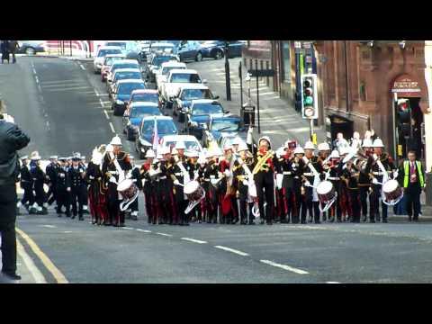 Royal Marines Band Plymouth Collingwood 2010 Festival Parade