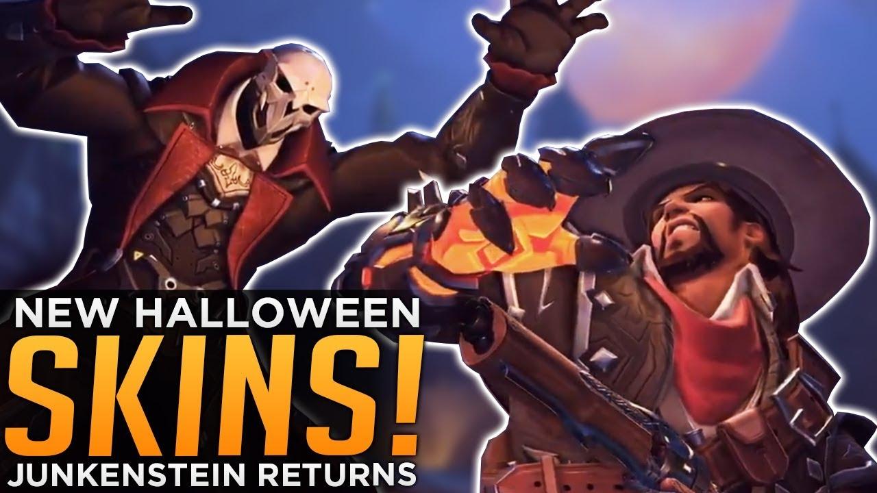 Overwatch: NEW Halloween SKINS! - Van Helsing McCree & Reaper Skin ...