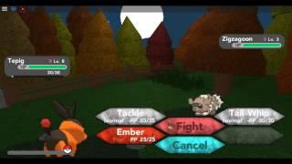 Roblox pokemon brick bronze with GINGA BOI and CBG-ep1
