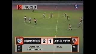 Dinamo Tbilisi 2-1 Athletic Bilbao 12.08.1998