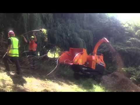 A540 Jensen Wood Chippers Alfa Contracts Nz Ltd Doovi
