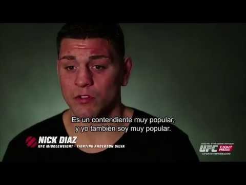 Ufc 183 Conversando Con Nick Díaz