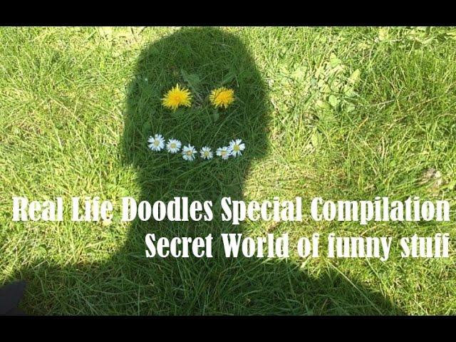 Real life doodles Special Compilation  - Secret World of funny stuff