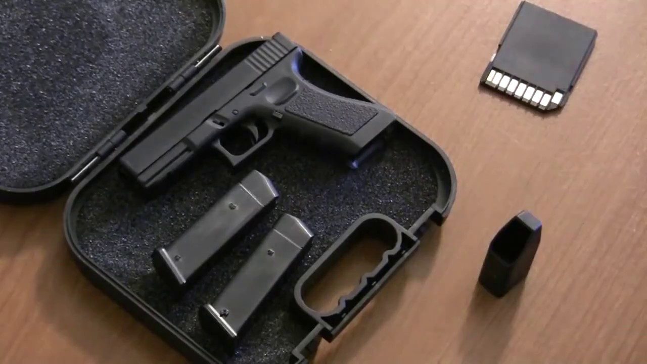 Image result for mini glock gun