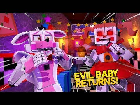 Minecraft Fnaf: Sister Location - Evil Baby Returns (Minecraft Roleplay)
