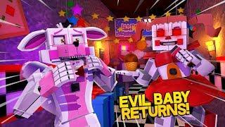 Minecraft Fnaf: Sister Location - Evil Baby Returns (Minecraft Roleplay)