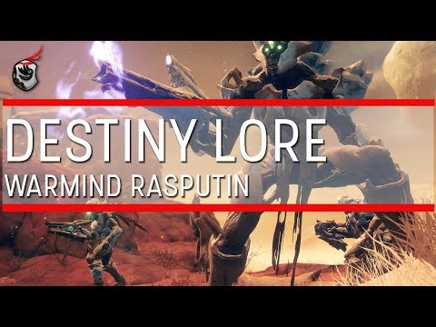 Destiny Lore: Warmind Rasputin (AI-COM/RSPN)