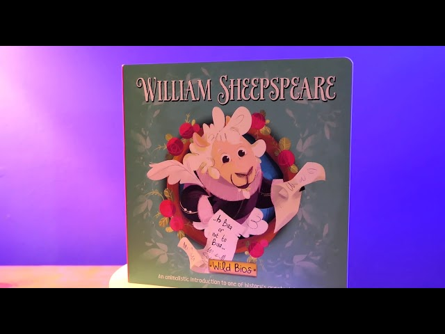 William Sheepspeare Book Promo