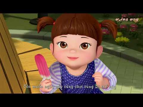 Vui học tiếng Hàn - Tăng khả năng nghe tiếng Hàn thần tốc - 콩순이와 예쁜 이모 hoạt hình Hàn Quốc