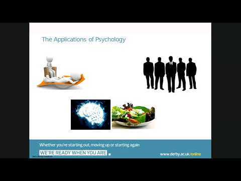 Developing your career in Psychology - January 2018