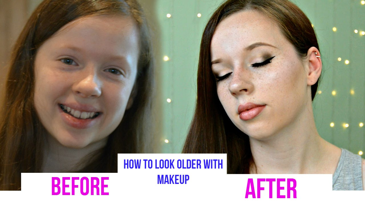 How to Look Older with Makeupblushing12beauty