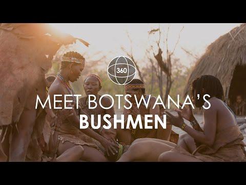 360° Video - Experience a Traditional Bushmen Dance   Rhino Africa